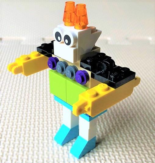 レゴ 小型ロボットの作り方