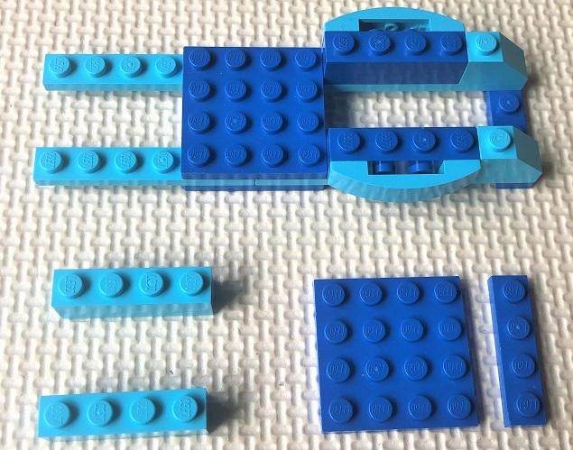 レゴクラシック バイクの組み立て方
