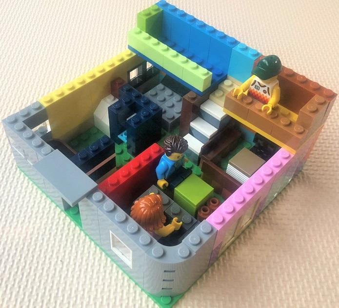 レゴで家づくり