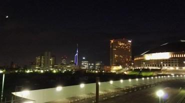 Fukuoka Tower and Fukuoka Dome