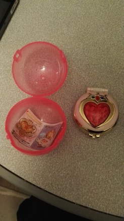Gashapon Sailor Moon content