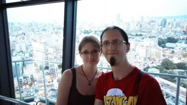 Us from with view from Tsūtenkaku