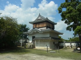 Turret of Okayama castle