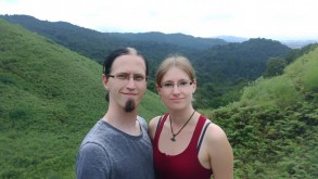 Me and Bianca at Nara - Mount Wakakusa