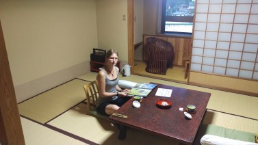 Just arrived at Tokiwaya Ryokan
