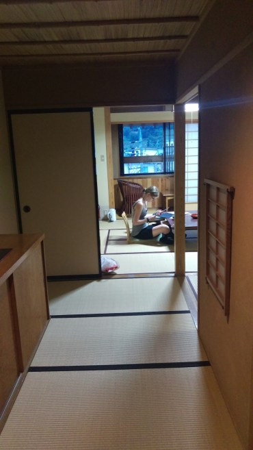 Our room at Tokiwaya Ryokan