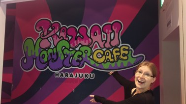 Right in front of Kawaii Monster Cafe