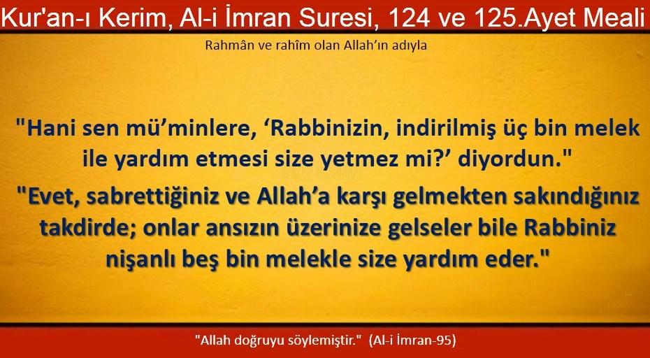 ali imran 124-125
