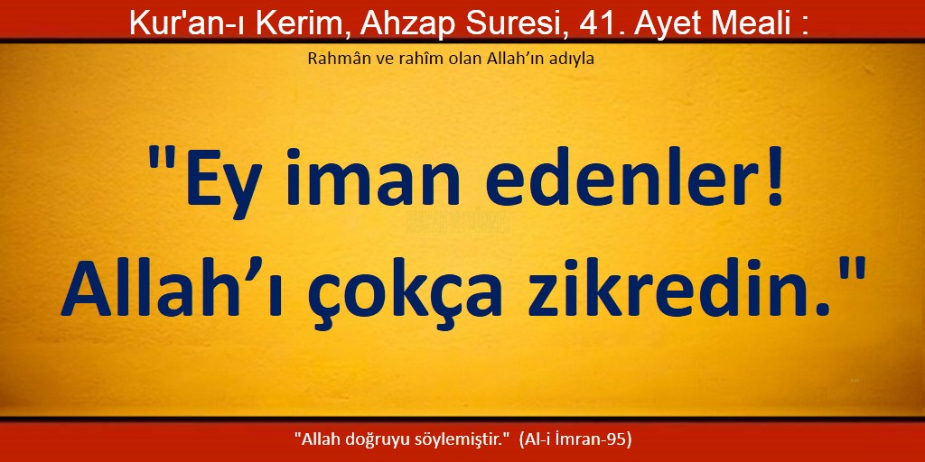 ahzab 41