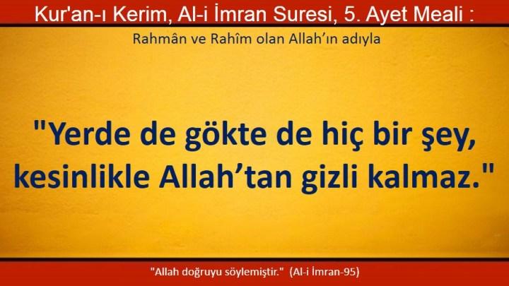 Al-i imran 5