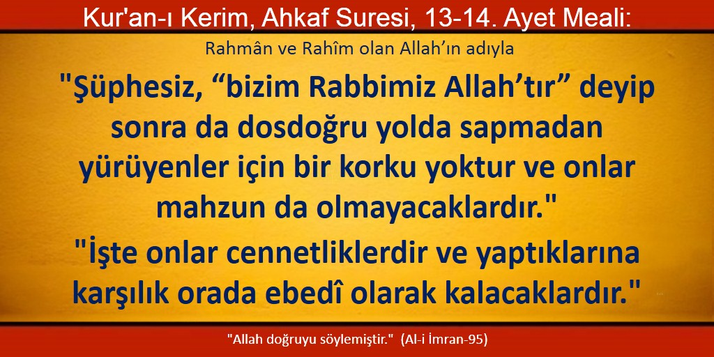Ahkaf 13-14