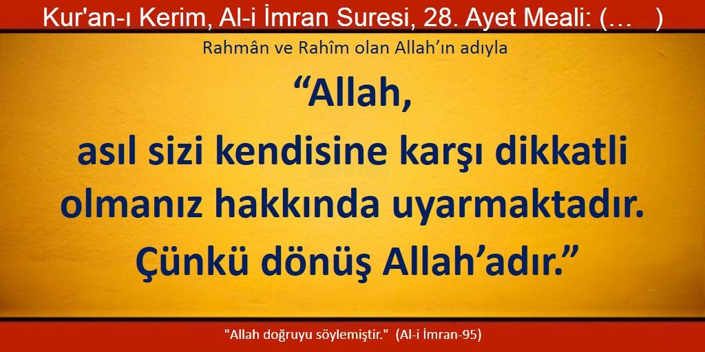 Ali imran 28