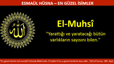 Photo of EL MUHSİ