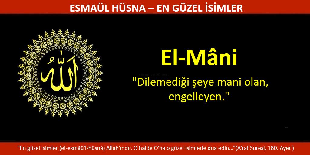 EL MANİ