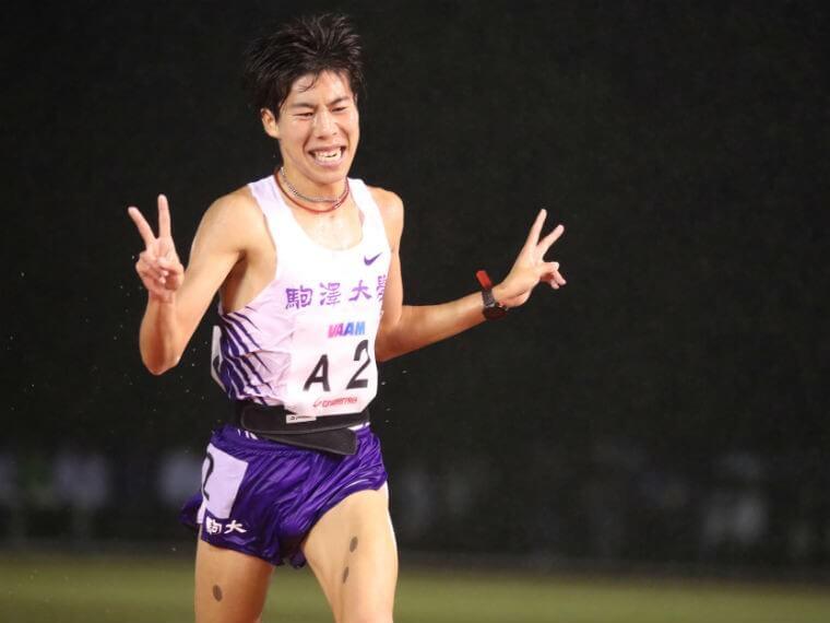 田澤廉選手の画像