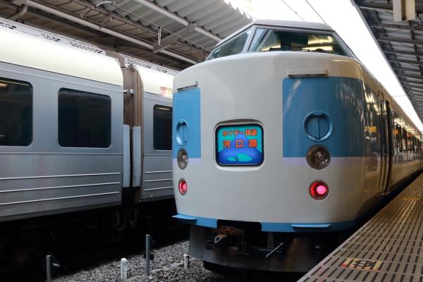快速山梨富士3号入線