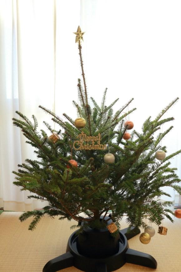 IKEAクリスマスツリーもみの木オーナメント