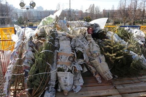 IKEAもみの木のクリスマスツリー回収方法