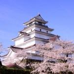 鶴ヶ城桜の見頃や開花予想見所やライトアップ桜まつりアクセス駐車場