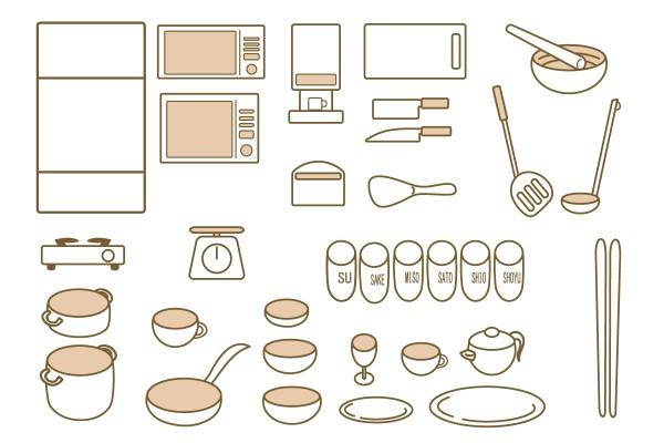 キッチン断捨離の仕方