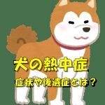 犬の熱中症の症状とは?熱中症を予防する方法や後遺症についても解説!