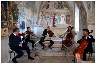 Kammermusikabend- Streichquintette von Schubert und Boccherini