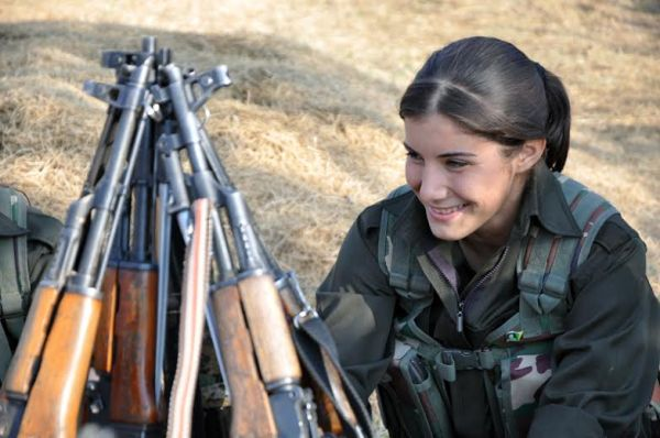 Women in the People's Protection Units defend Rojava: a ...