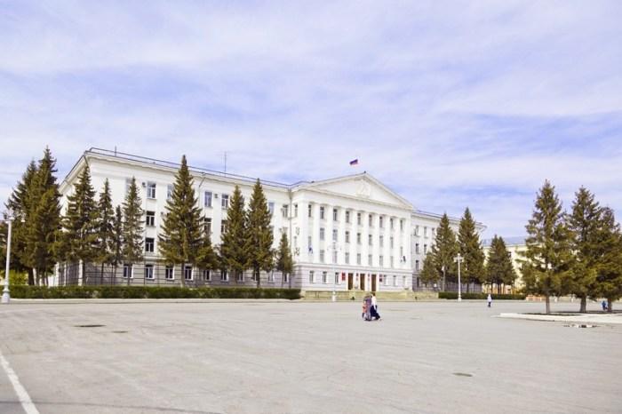 Здание Администрации г. Кургана