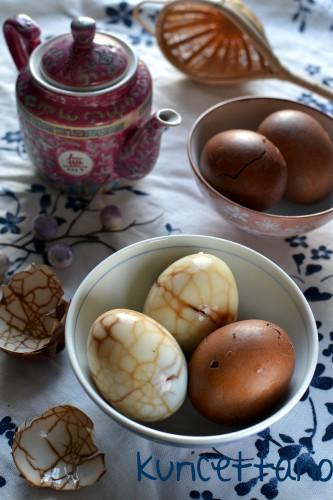 ricetta,ricette,uova,uova sode,uova colorate,tè,uova cinesi,spezie,pasqua,pasquetta