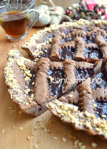 ricetta,ricette,dolci,crostata,linzer,torte,torta,cacao,nocciole,lamponi,marmellata,natale,austria,cioccolato