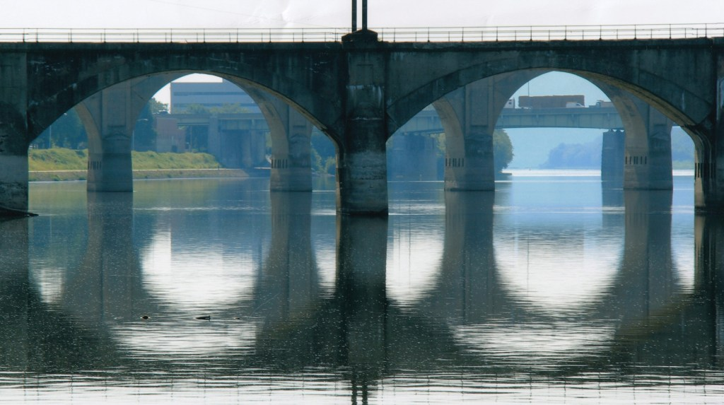 Bridge Reflections on Sasquehanna River. Foto: Hanna Kelker