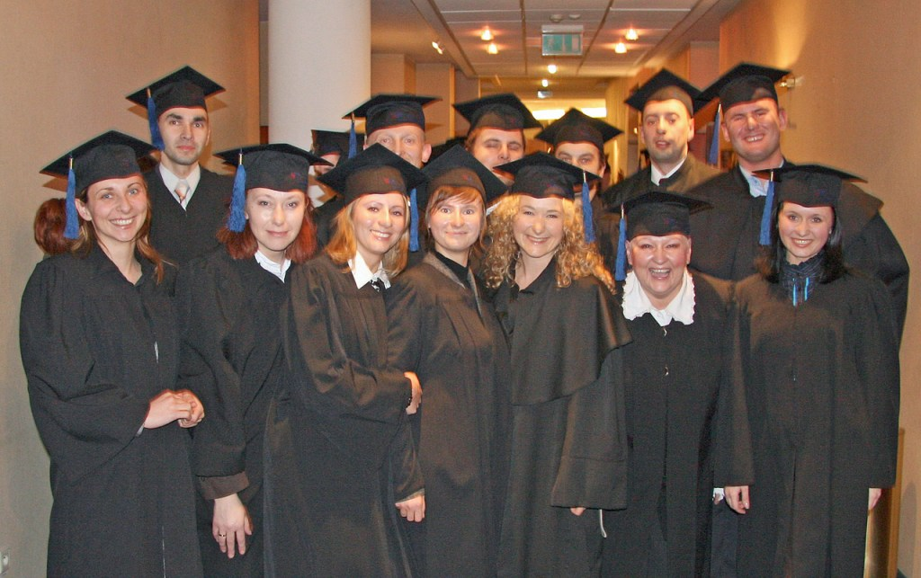 Absolwenci MBA na Uniwersytecie Szczecinskim. Foto: archiwum