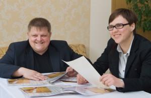 Prezes Światowego Zjazdu Wilniuków Władysław Wojnicz i główny koordynator projektu Bożena Mieżonis zapewniają, że projekt zaprezentuje unikatową wielokulturowość Wilna na wielu płaszczyznach  Fot. Marian Paluszkiewicz