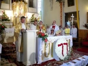 Ks. dziekan Józef Aszkiełowicz obchodzi w tym roku 25-lecie święceń kapłańskich Fot. archiwum ASRW