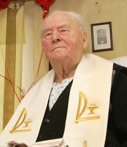Patriarcha Ziemi Wileńskiej - Ksiądz Prałat Józef Obrembski Fot. Marian Paluszkiewicz