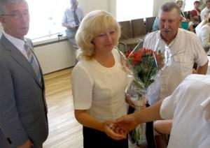 Irena Narkiewicz na stanowisko wicedyrektora administracji samorządu rejonu trockiego została zatwierdzona jednogłośnie  Fot. Alina Sobolewska