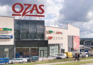 """Super nowoczesny kompleks handlowo-rozrywkowy """"Ozas"""" od czwartku czeka na klientów  Fot. Marian Paluszkiewicz"""