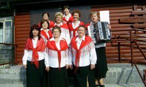 """Zespół folklorystyczny """"Sużanianka"""" Fot. archiwum ASRW"""