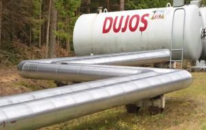 Chociaż wśród państw Unii Europejskiej Litwa płaci najwyższą cenę za rosyjski gaz, nie może jednak liczyć na jego stałe dostawy Fot. Marian Paluszkiewicz