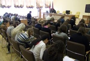 Sprawdzić swoją wiedzę o Konstytucji przybyło 39 uczestników Fot. archiwum ASRW