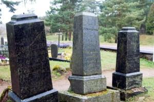 Są też nazwiska bardzo znane. Nie tylko w skali danej parafii. Na przykład, groby Januszewskich Fot. Marian Paluszkiewicz