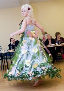 Pasją Kasi Wiereszko z Wilna są kwiaty Fot. Marian Paluszkiewicz