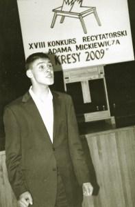 II miejsce przypadło w udziale Tomaszowi Rudziańcowi, który będzie reprezentował Litwę podczas finału konkursu w Białymstoku Fot. Bronisława Kondratowicz