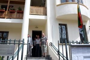 Poznawanie stolicy rozpoczęliśmy od litewskiej wysepki — wizyty w ambasadzie Fot. Waldemar Szełkowski