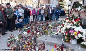Katastrofa pod Smoleńskiem poruszyła też mieszkańców Litwy