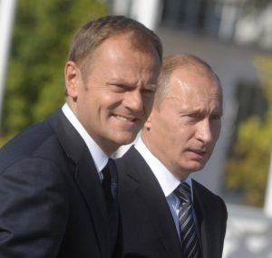 Premierzy Władimir Putin i Donald Tusk — wielcy nieobecni na szczycie Rady Państw Morza Bałtyckiego.