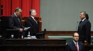 Uroczystość zaprzysiężenia prezydenta zgromadziła najważniejsze osoby w państwie. Fot. ELTA