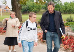 Pani Danuta wierzy, że dziennikarze TVN FAKTY naświetlą sytuację syna osobom, które pomogą Tomkowi jak najszybciej otrzymać obywatelstwo polskie  Fot. Marian Paluszkiewicz