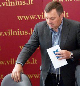 Czy mer Wilna, konserwatysta Vilius Navickas, powinien bać się o swój stołek? Fot. Marian Paluszkiewicz