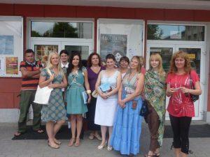 Uczestnicy szkoleń w Supraślu.